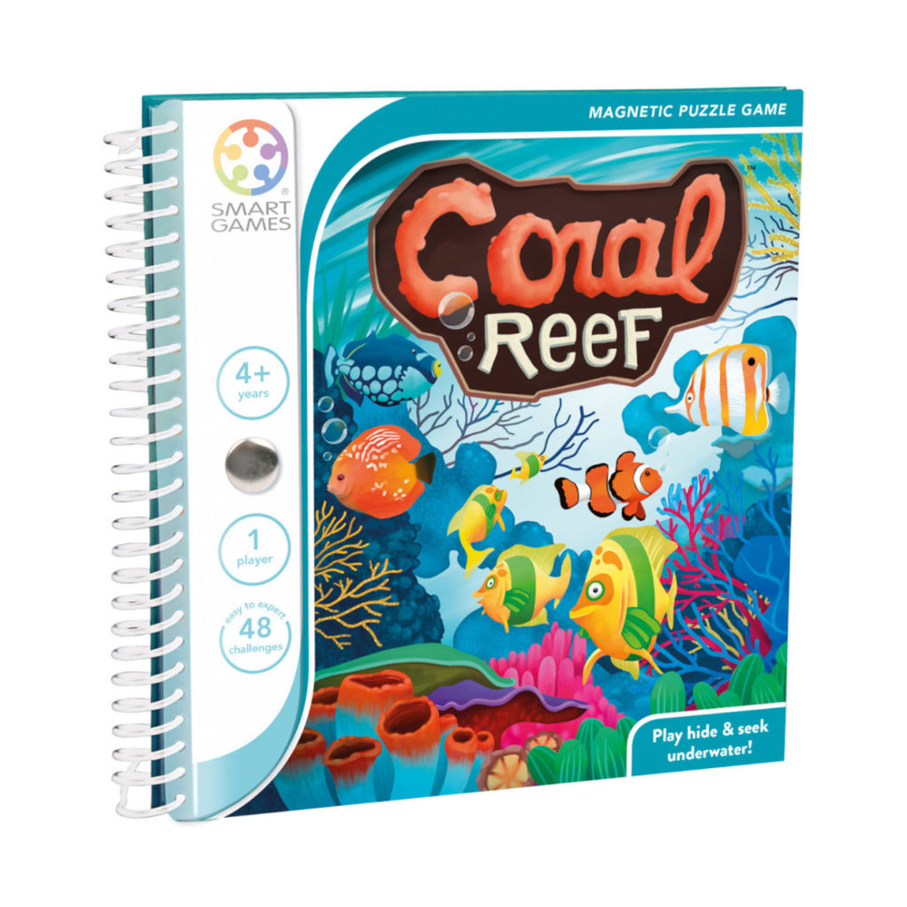 Smart Games - 522096 | Coral Reef Magnetic Travel Game