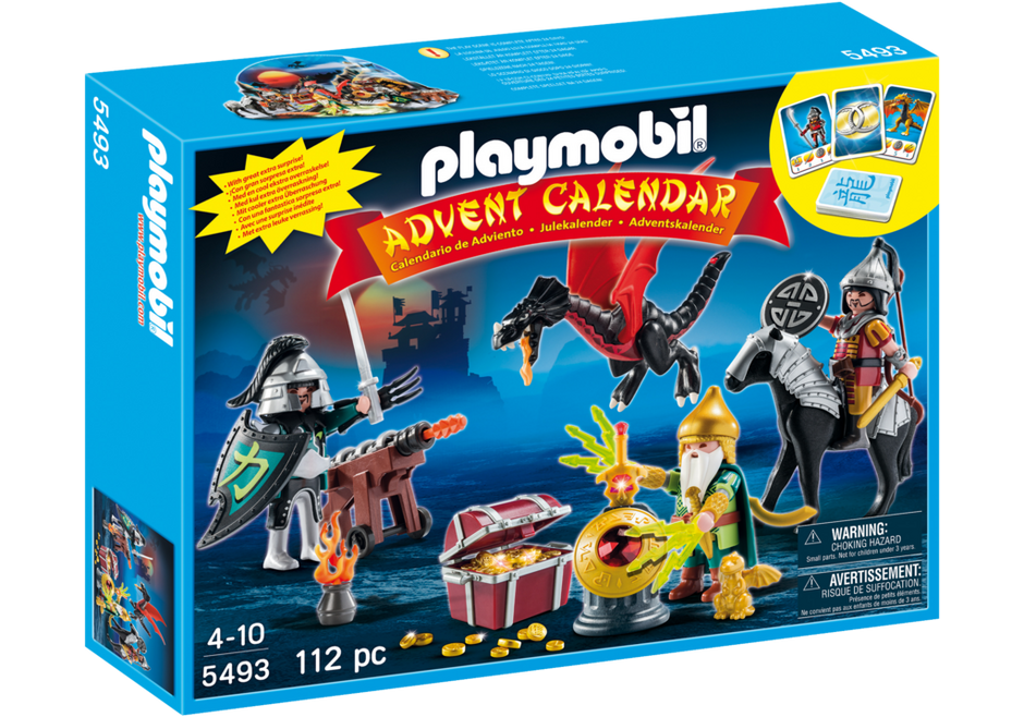 Playmobil Advent Calendar Dragon - 5493