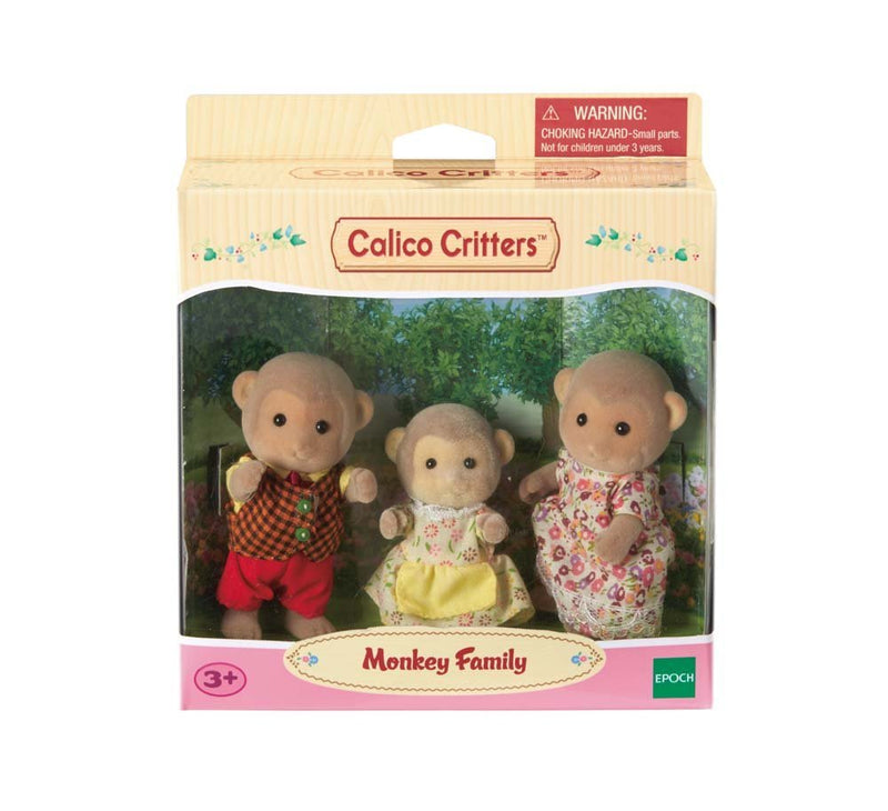 Calico Critters - CC1489 | Mango Monkey Family