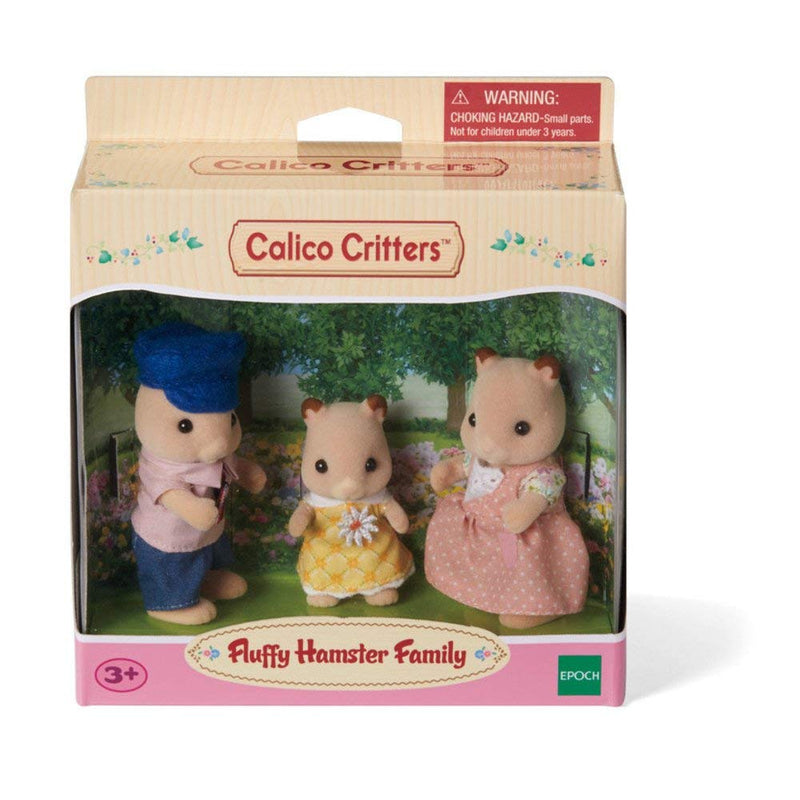 Calico Critters - CF1490 | Fluffy Hamster Family