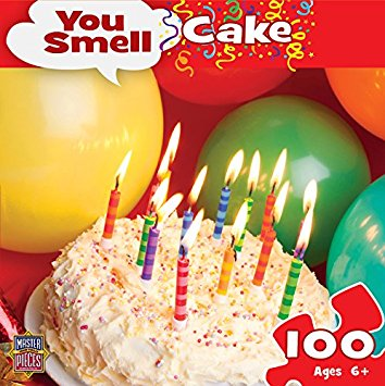MasterPieces Puzzle Company - You Smell Birthday Cake 100 Piece Puzzle