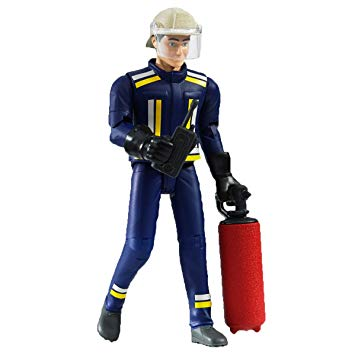 Bruder - 60100 | Emergency: Fireman With Accessories