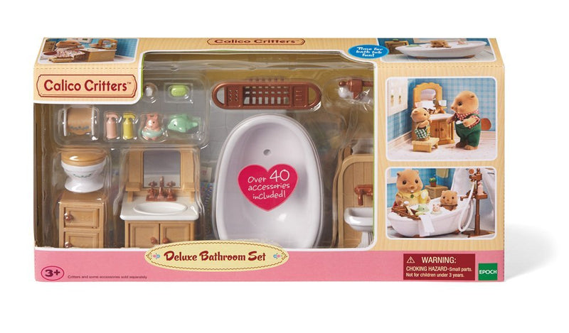 Calico Critters - CC2480 | Deluxe Bathroom Set