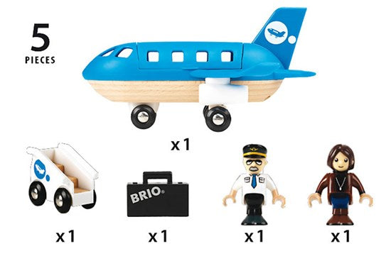 BRIO - 33306 | Airplane Boarding Set
