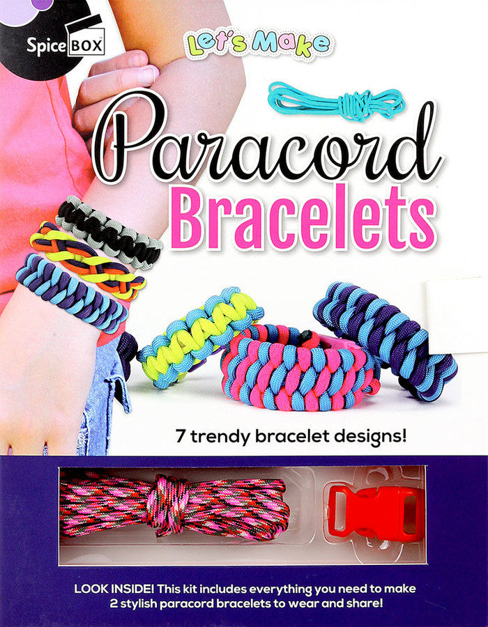 Spice Box - 22775 | Let's Make: Paracord Bracelets
