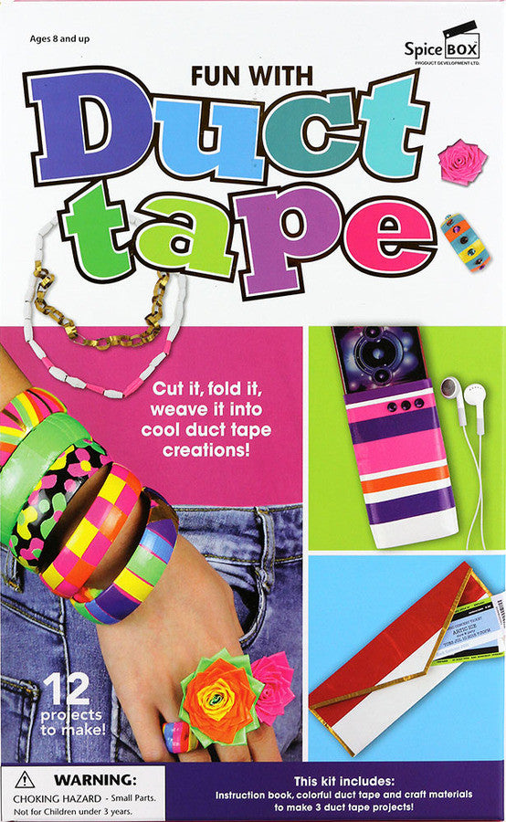Spice Box Make & Play Fun With Duct Tape - 23024
