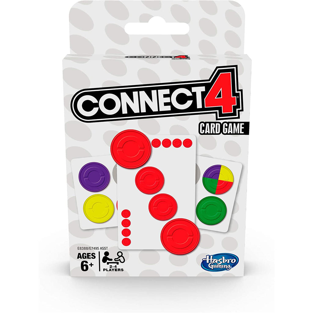 Hasbro - E8388 | Connect 4 Card Game