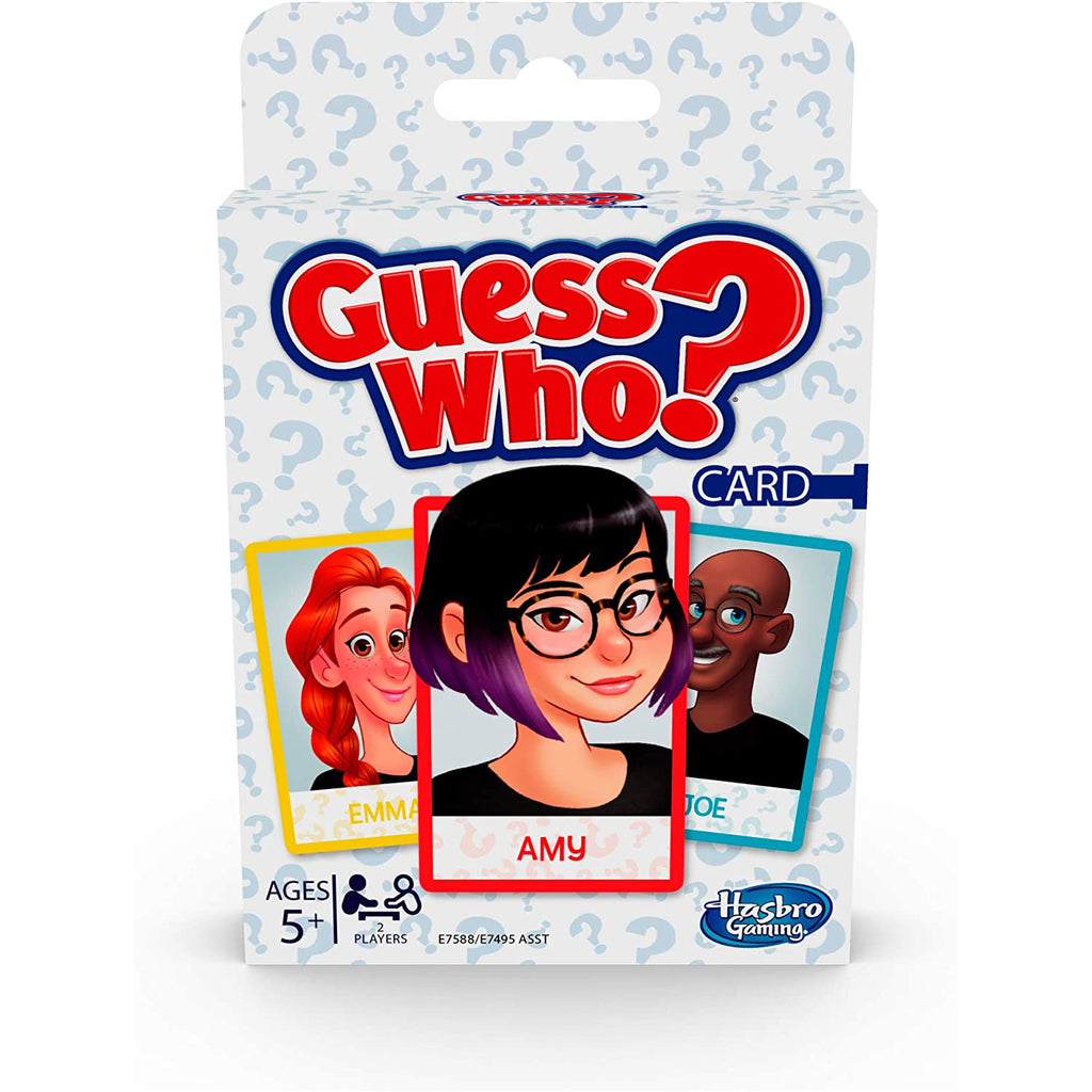 Hasbro - E7588 | Guess Who Card Game