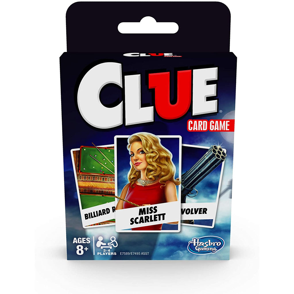 Hasbro - E7589 | Clue Card Game