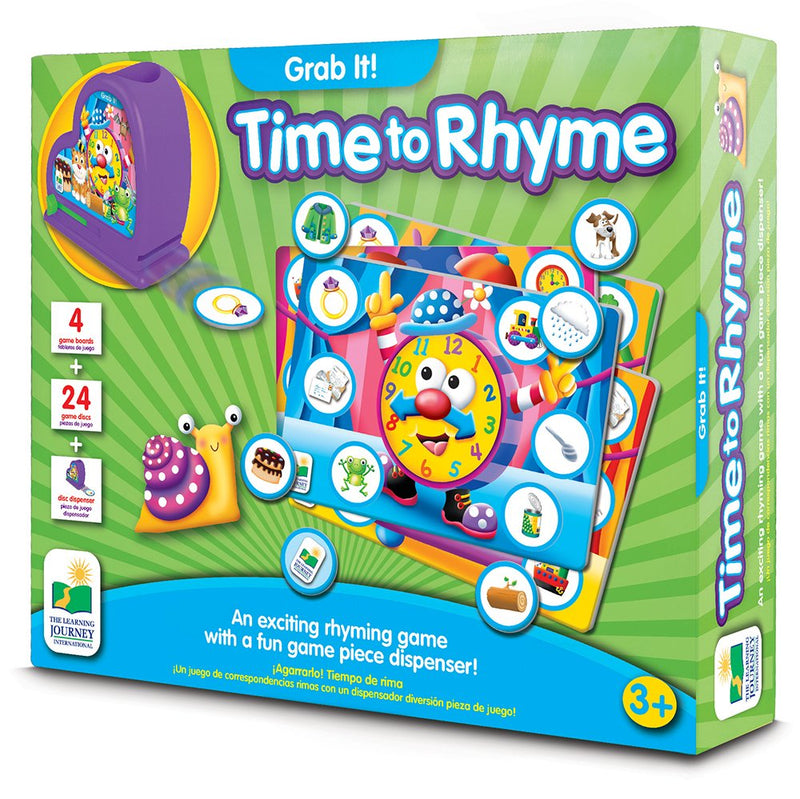The Learning Journey - 117705 | Grab It! Time to Rhyme
