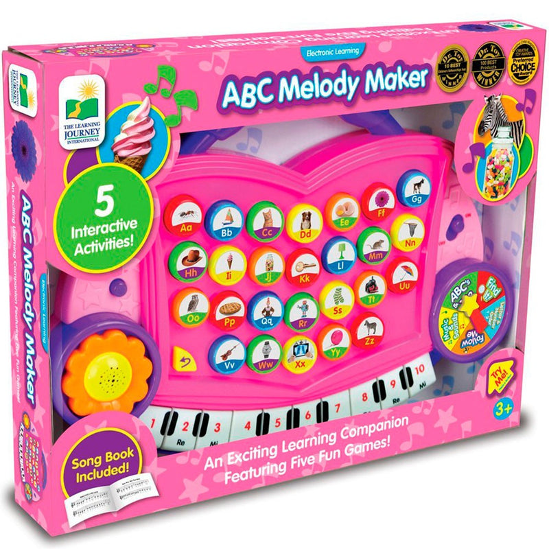 The Learning Journey - 302507 | ABC Melody Maker - Pink