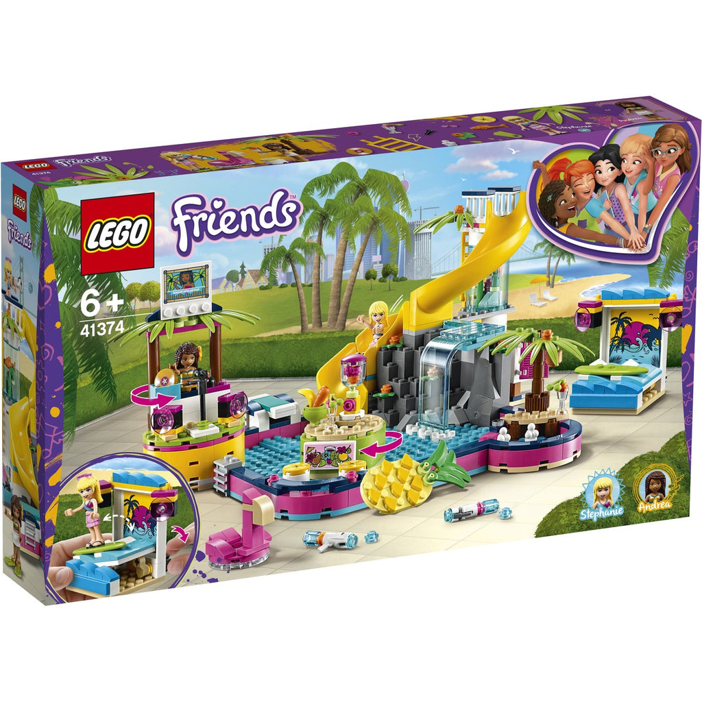 LEGO - 41374 | Friends: Andrea's Pool Party
