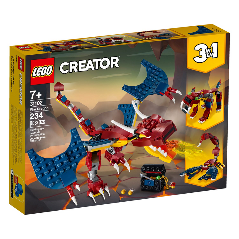 LEGO - 31102 | Fire Dragon