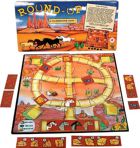 Family Pastimes Round Up - A Co-operative Game