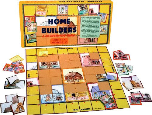 Family Pastimes Home Builders - A Co-operative Game
