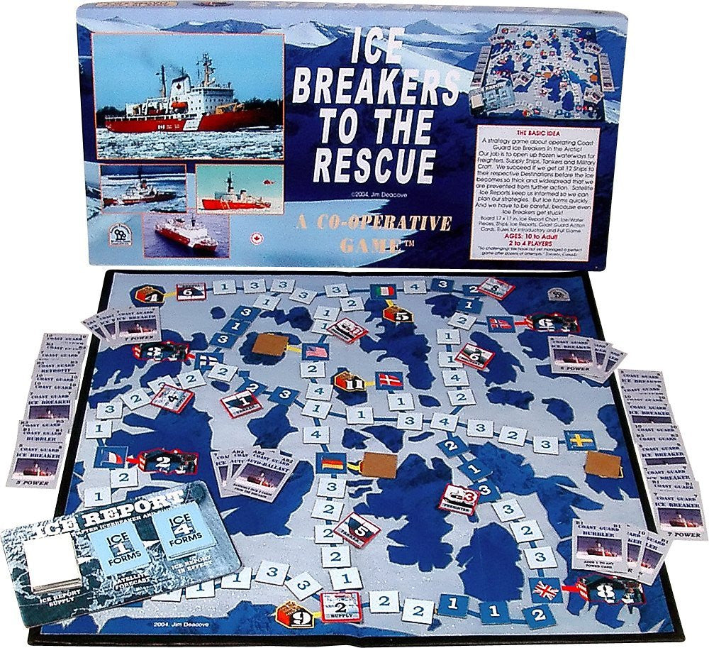 Family Pastimes - Ice Breakers To The Rescue - A Co-operative Game