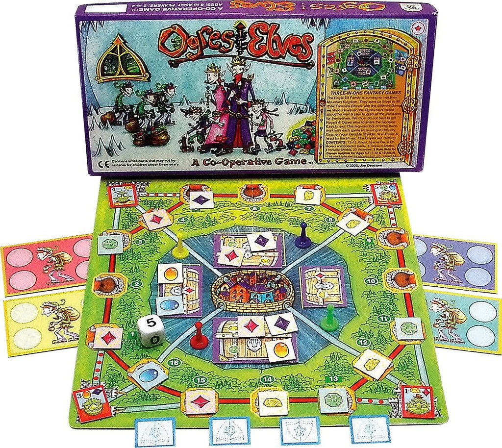 Family Pastimes Ogres And Elves - A Co-operative Game