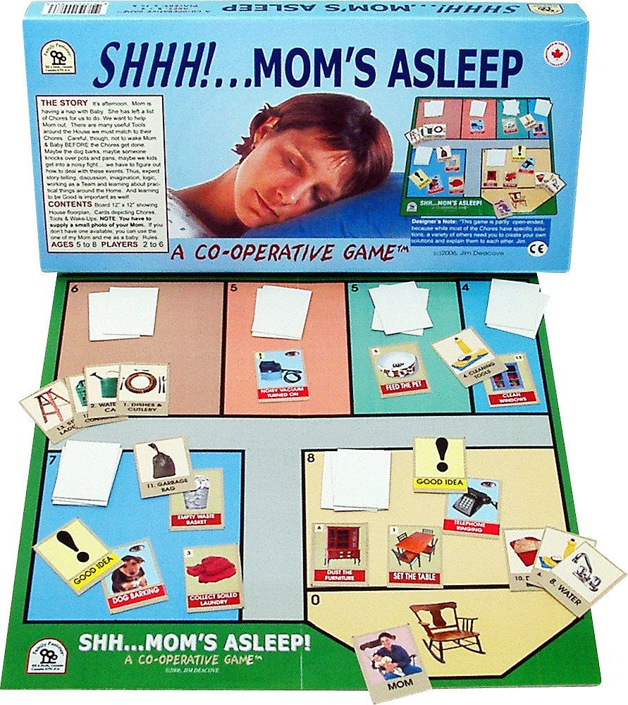Family Pastimes Shhh Mom's Asleep - A Co-operative Game