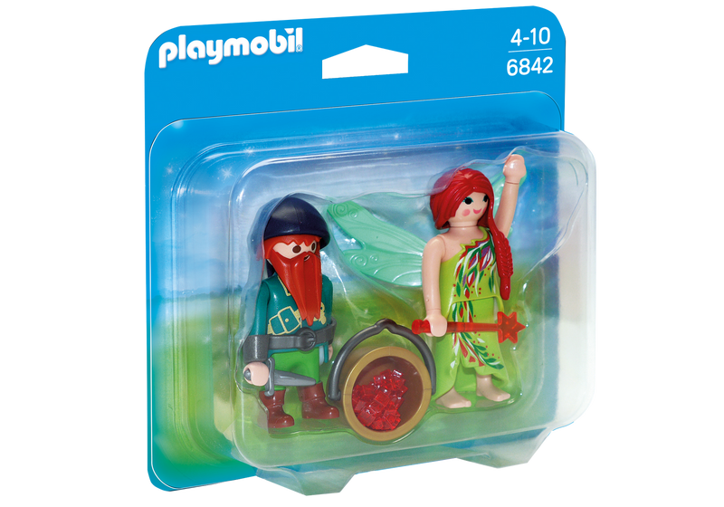 Playmobil Elf And Dwarf Duo Pack - 6842