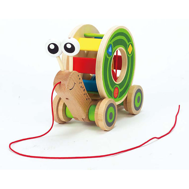 Hape Walk-A-Long Snail - E0349