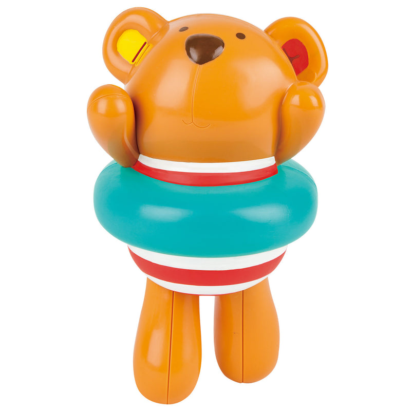 Hape Swimmer Teddy Wind-Up Toy - E0204