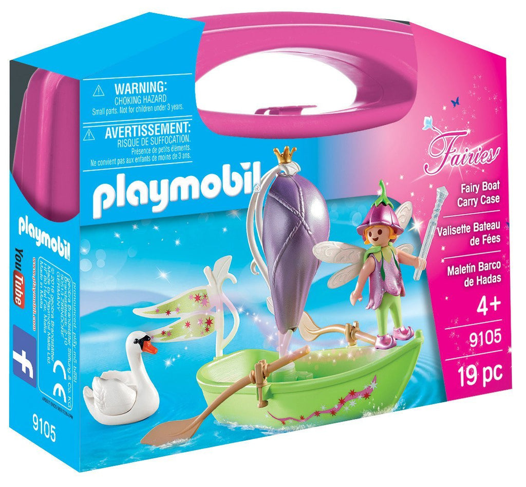 Playmobil - Fairies: Fairy Boat Carry Case