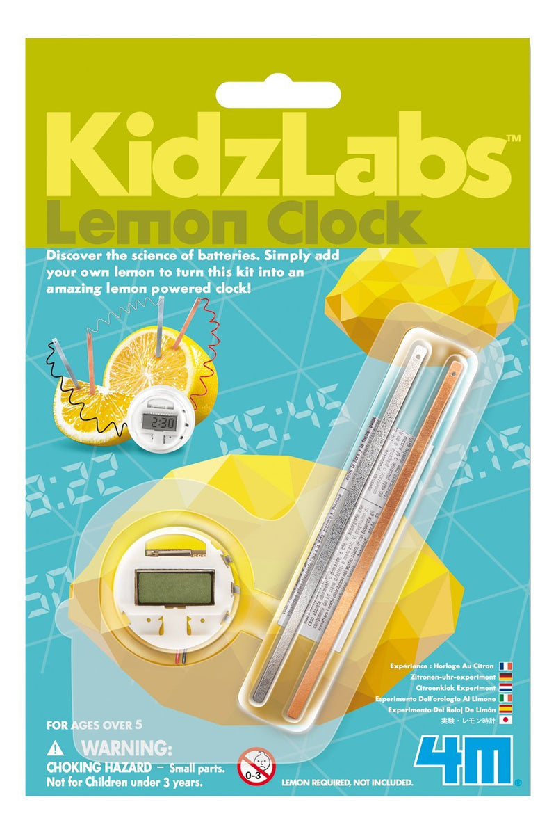 4M - P3306 | KidzLabs: Lemon Clock Experiment