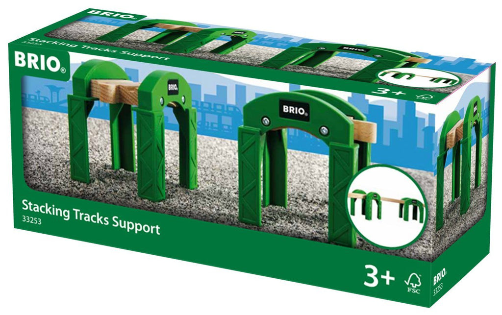 BRIO - 33253 | Stacking Tracks Supports