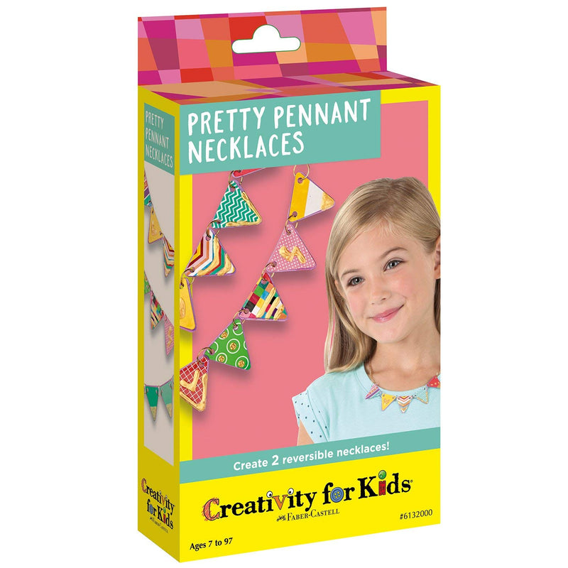 Creativity for Kids - 6132005 | Creativity For Kids: Pretty Pennant Necklaces
