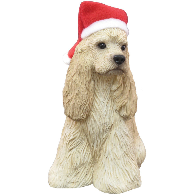 Sandicast - Buff Cocker Spaniel Sculpture Holiday Ornament
