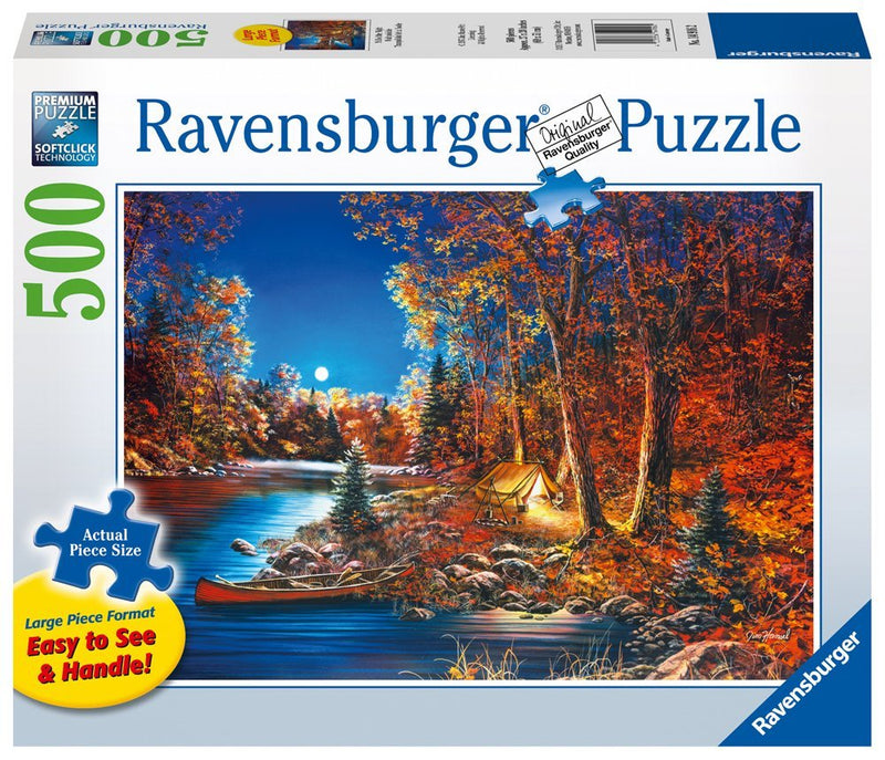 Ravensburger - Still Of The Night 500 Large Piece Format Puzzle