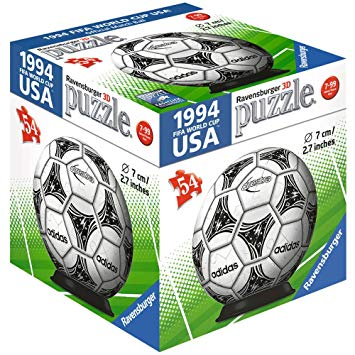 Ravensburger - 11937 | 54 Pc Pz Ball: Adidas FIFA World Cup Match Balls - assorted