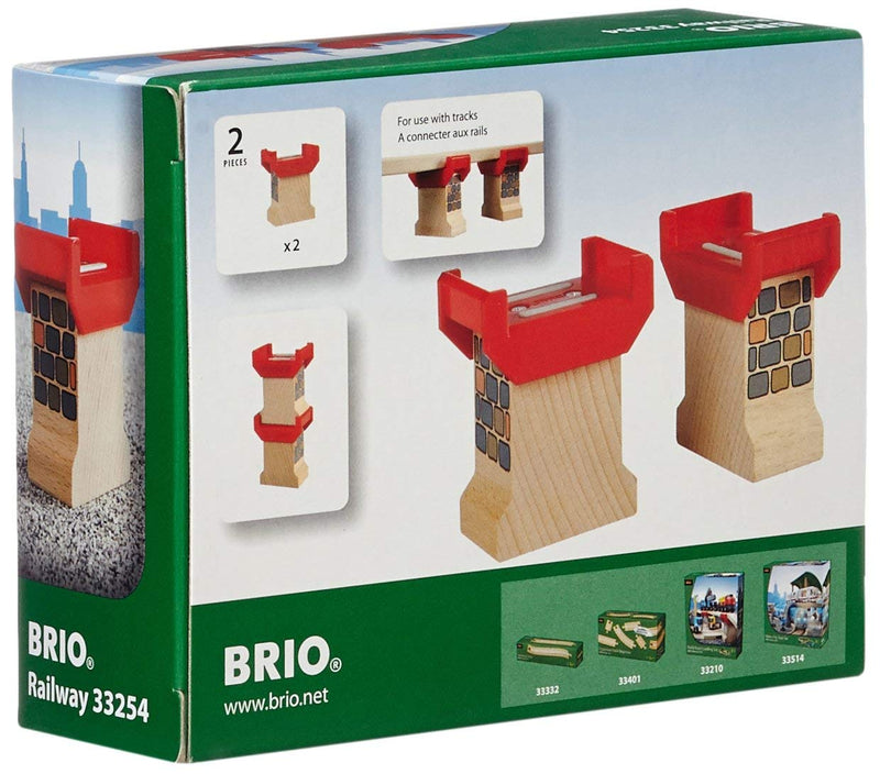 BRIO - 33254 | Super Supports For Wooden Track