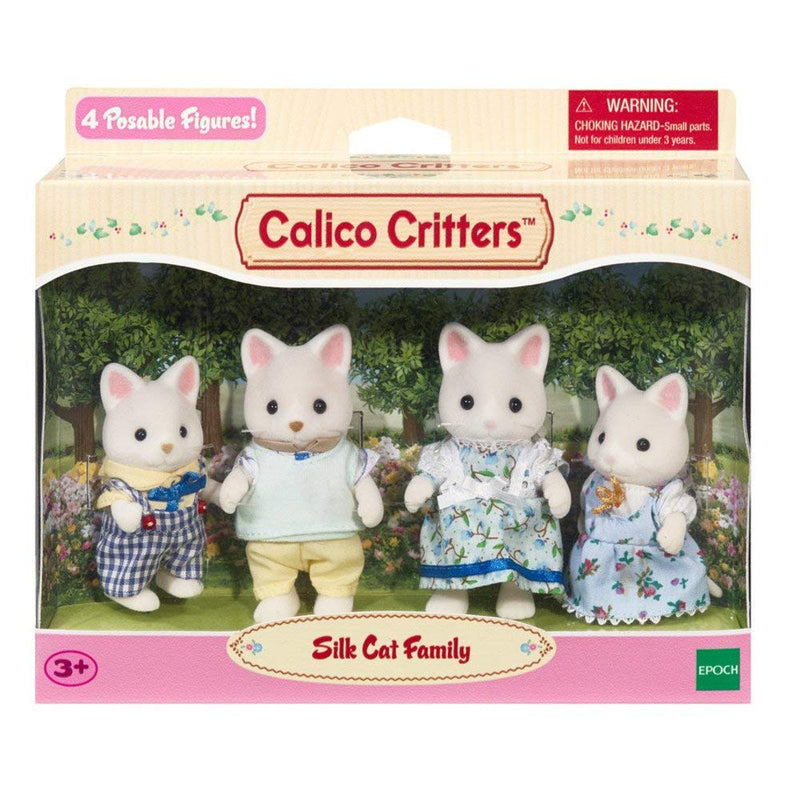 Calico Critters - CC1693 | Silk Cat Family