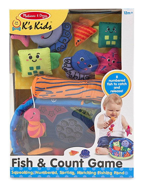 Melissa & Doug - K's Kids: Fish & Count Learning Game