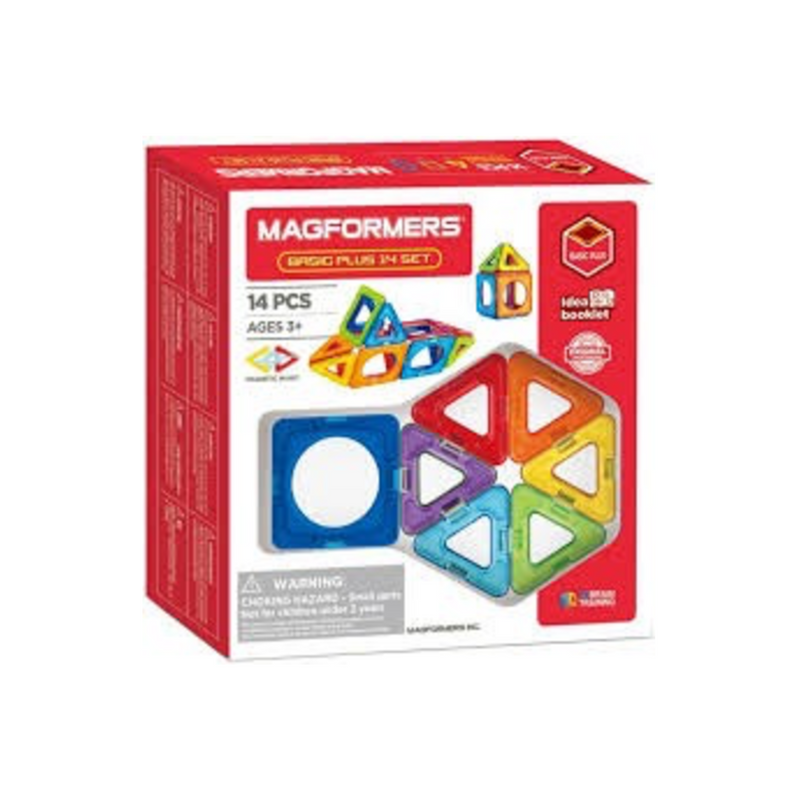 Magformers - 715013 | Magformers Basic Plus 14 pc