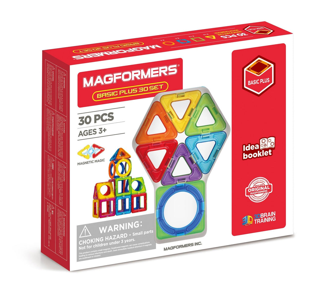 Magformers - 715015 | Magformers Basic Plus 30 piece