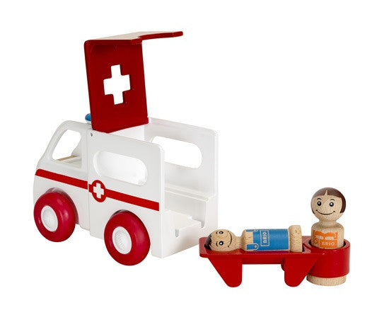 BRIO - 30381 | Light And Sound Ambulance
