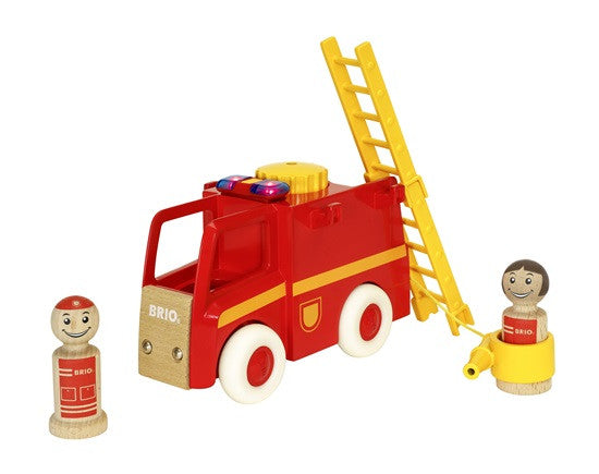 BRIO - 30383 | Light And Sound Firetruck