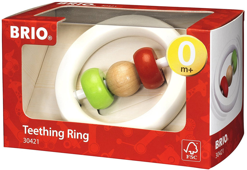 BRIO - 30421 | Teething Ring And Rattle