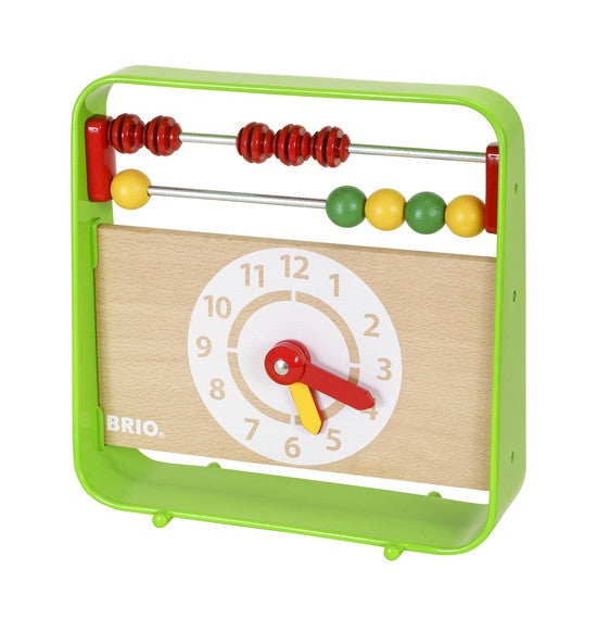 Brio Abacus With Clock - 30447