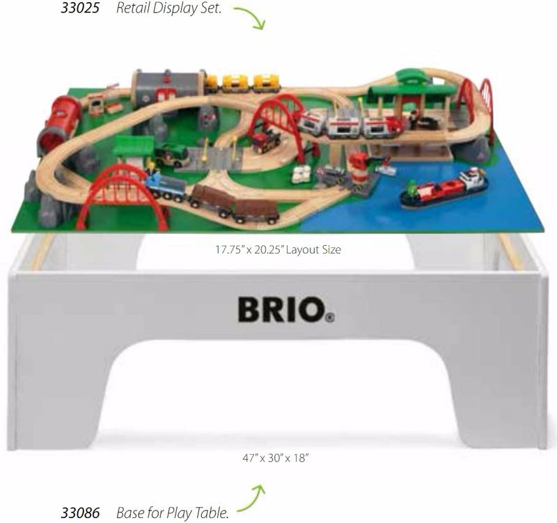 Brio Play Table - Large (2 Pieces) - 33086
