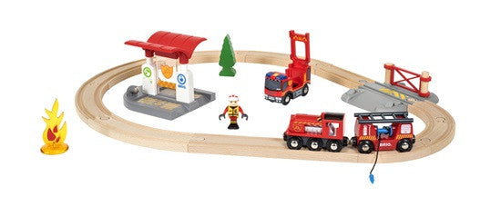 Brio Rescue Firefighter Set - 33815