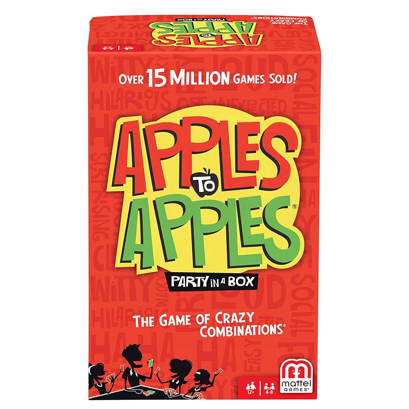 Mattel - BGG15 | Apples to Apples - Party in a Box – Castle Toys