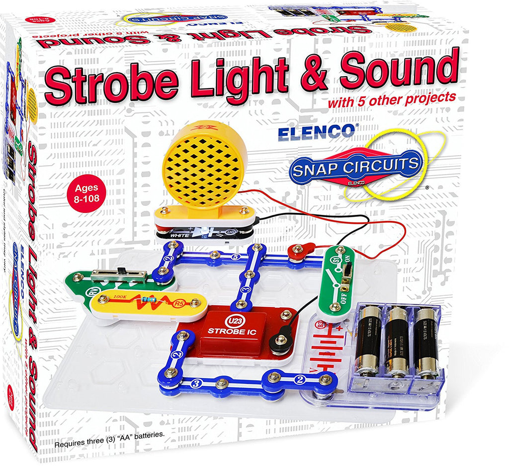 Elenco: Snap Circuits - Strobe Light & Sound