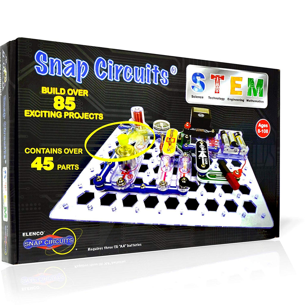 Elenco - SCSTEM1 | Snap Circuits: STEM Electric Discovery Kit