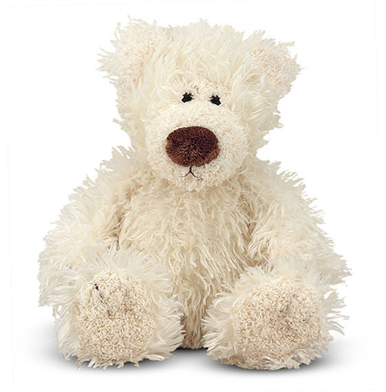 Melissa & Doug 7730 Baby Roscoe Vanilla Teddy Bear Stuffed Animal