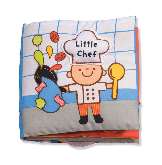 Melissa & Doug 9209 Soft Activity Book - Little Chef