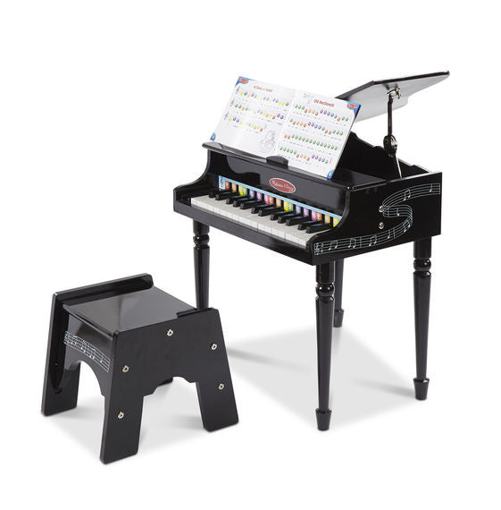 Melissa & Doug 1315 Learn To Play Classic Grand Piano Wooden