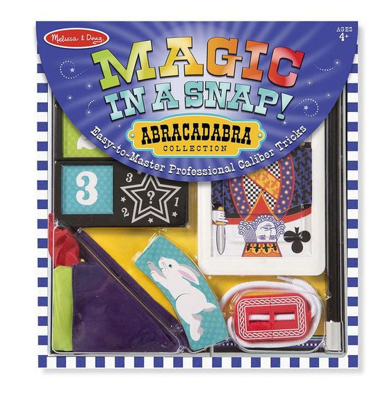 Melissa & Doug 4032 Magic In A Snap Abracadabra Collection